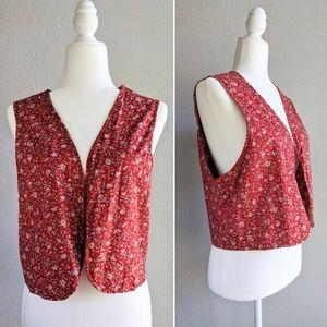 Vintage Reversible 80s/90s Vest